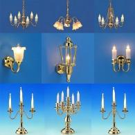 Chandeliers - lamps - sconces