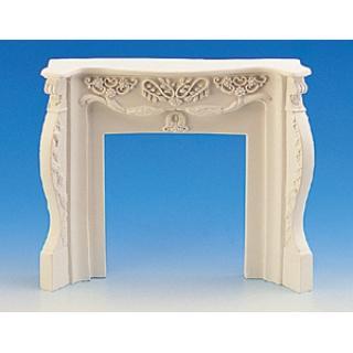 Victorian fireplace plaster