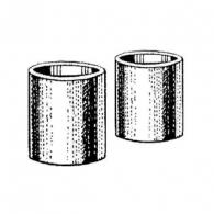 Coarse grain abrasive cylinders
