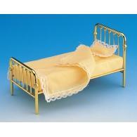 Brass single bed