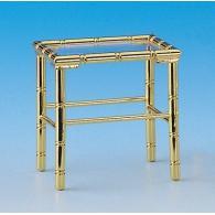 Brass coffee table 45x35x48