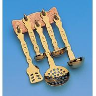 Set 5 ladles with wall panel