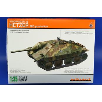 Jagdpanzer Hetzer Mid production