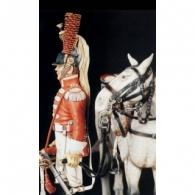 Dismounted french cuirassier trumpeter