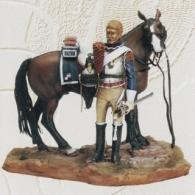 Dismounted trooper french cuirassier