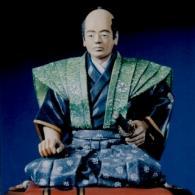 Kneeling samurai