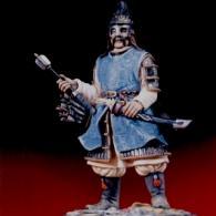 Mongol commander