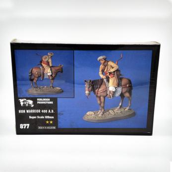 Cavaliere Unno (a cavallo) - 400 d.C.