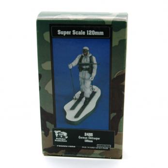 Soldato Tedesco con sci
